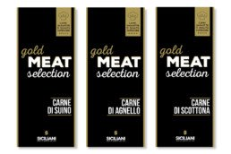 Etichette Gold Meat Selection