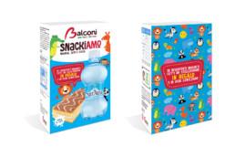 Packaging Snack al Latte